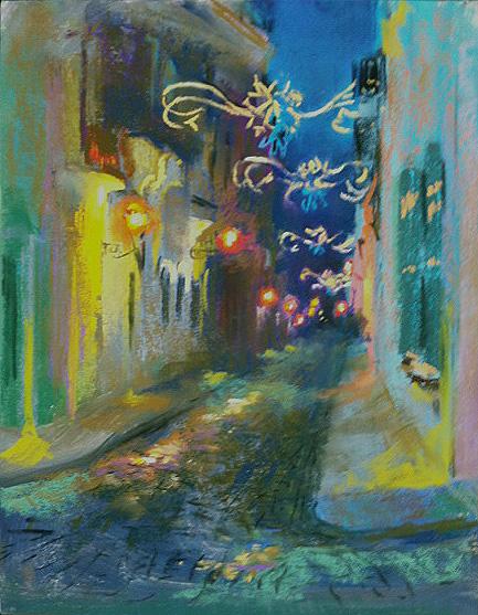 Judith Carducci En Plein Air Workshop Paintings from Puerto Rico
